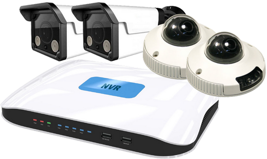 4CH Network Video Recorder with 4 Ports POE